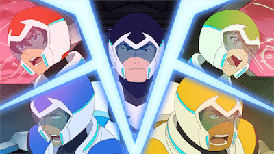 Dreamworks Voltron Legendary Defender Printable Coloring