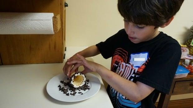 Chocolate Dipped Ice Cream Cones Recipe Process Rolling