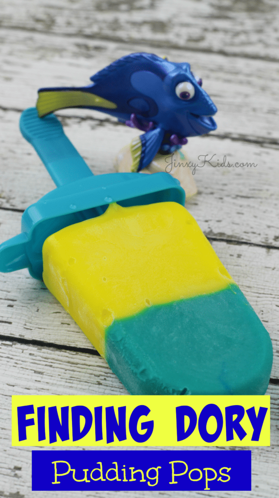 Finding Dory Pudding Pops Recipe