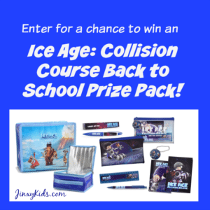Ice Age: Collision Course Back to School Prize Pack Giveaway