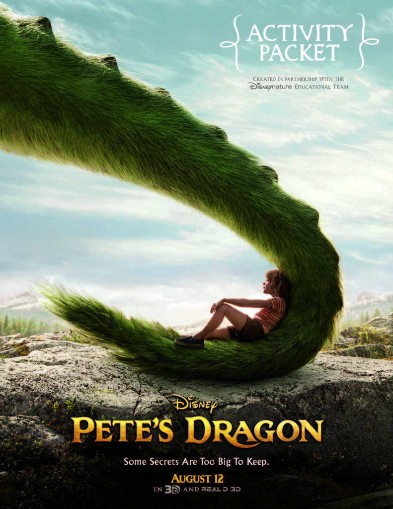 Pete's Dragon Printable Activity Sheets