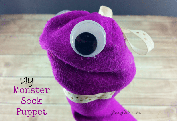 DIY Monster Sock Puppet Craft