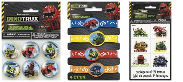 Dinotrux Party Favors