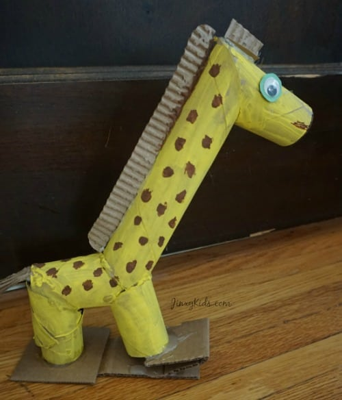giraffe-toilet-paper-tube-craft