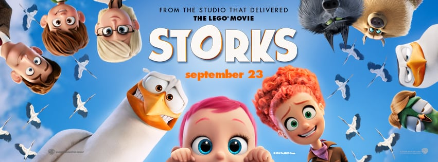 Storks Movie Characters