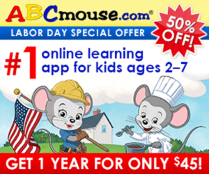 Online Learning Fun – 50% Off ABC Mouse!