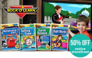 Rock 'N Learn 50% Off Sale!!