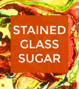 Stained Glass Sugar Science Experiment