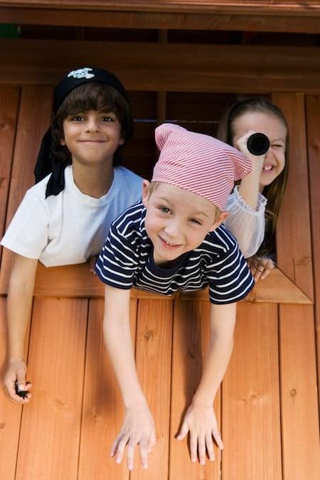 Children in Pirate Costumes