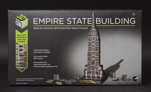 Nsi Empire State Building D Coin Art