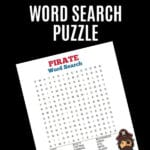 Pirate Word Search Puzzle PIN copy
