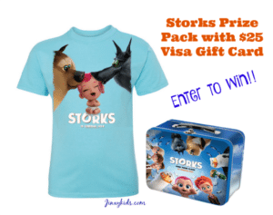 Storks Movie Prize Pack Giveaway
