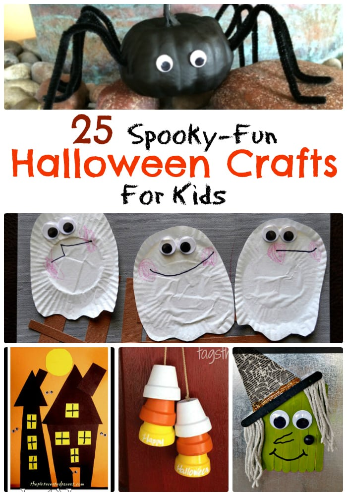 25 Spooky Fun Kids Halloween Crafts