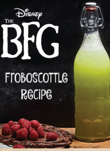 Frobscottle Recipe from The BFG