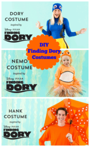 DIY Finding Dory Costumes for Halloween