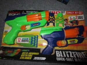 Blitzfire Quick-Shot Blasters Review
