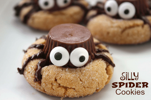 Silly Spider Cookies Recipe