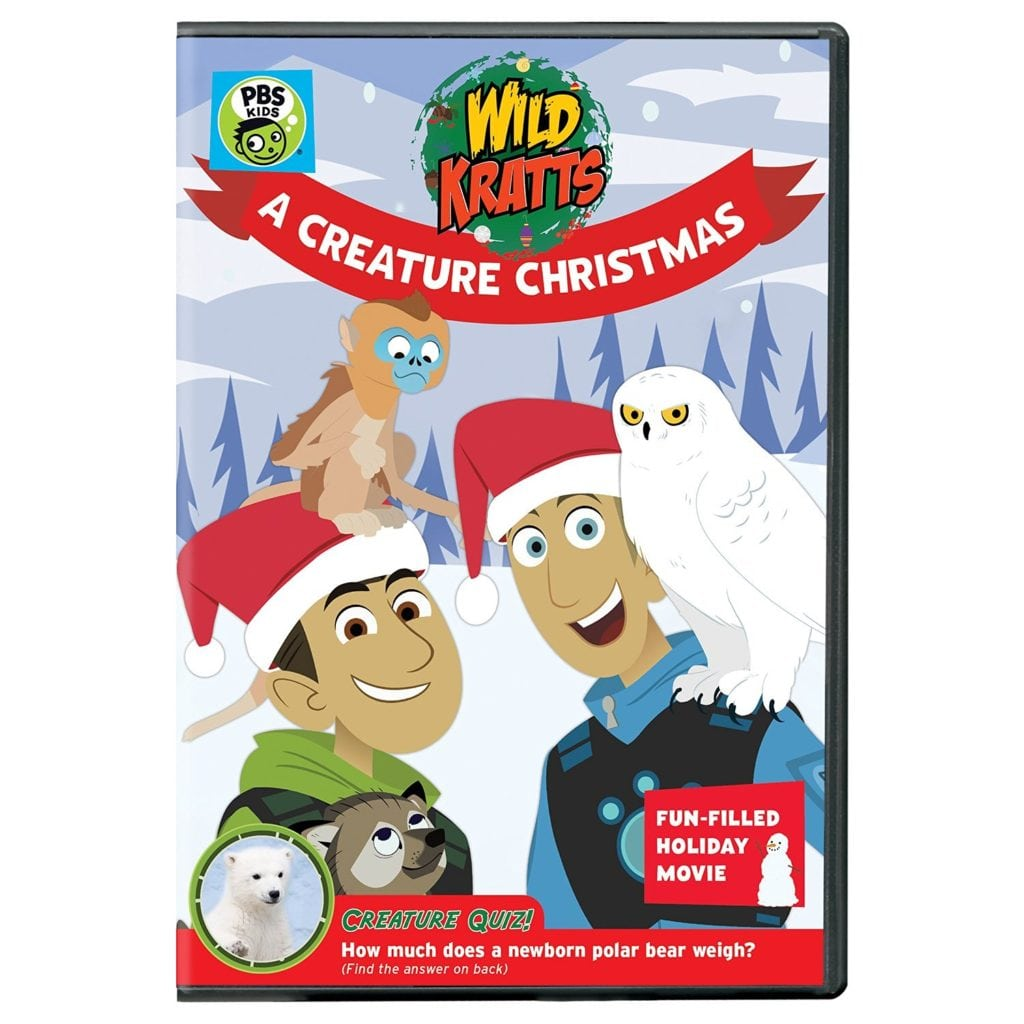 Wild Kratts Creature Christmas DVD