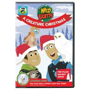 Wild Kratts: A Creature Christmas DVD Reader Giveaway
