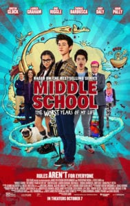 MIDDLE SCHOOL: The Worst Years of My Life Prize Pack Giveaway