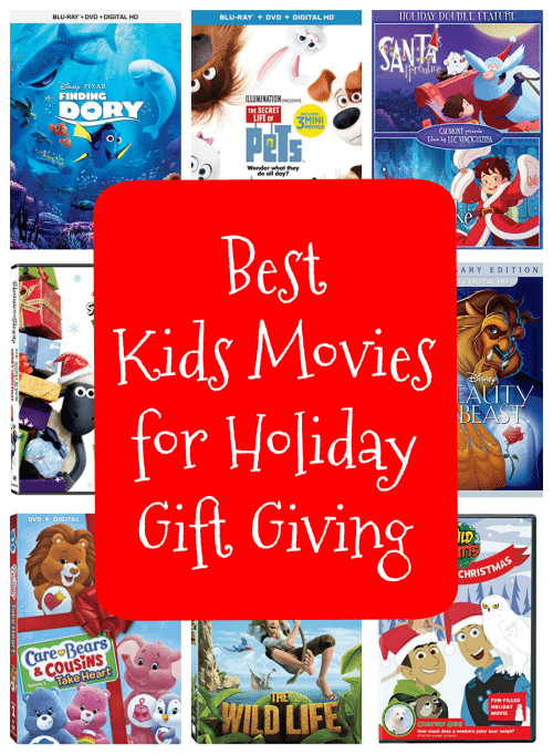 Best Kids Movies for Holiday Gift Giving