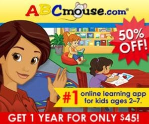 ABCmouse Half Off through Black Friday Weekend!
