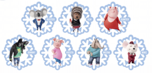 Free Printable Sing Ornaments – Decorate Your Tree with Characters from SING!