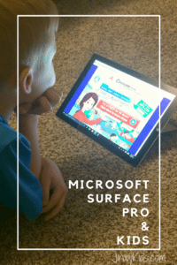 Microsoft Surface Pro: Perfect Tablet for Kids! + Giveaway