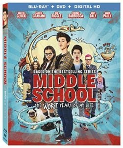 MIDDLE SCHOOL: The Worst Years of My Life Blu-ray Giveaway