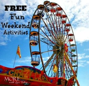 Free Family Fun Weekend Activities