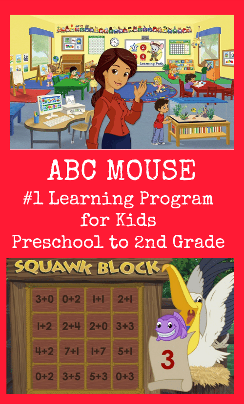 ABC Mouse Education App is the #1 learning program for kids from preschool to 2nd grade. Try it for FREE for 30 days!