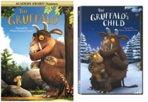 The Gruffalo and The Gruffalo's Child on DVD – Reader Giveaway