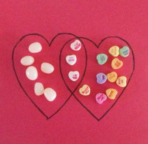 Valentine Math Activity: Valentine's Venn Diagram