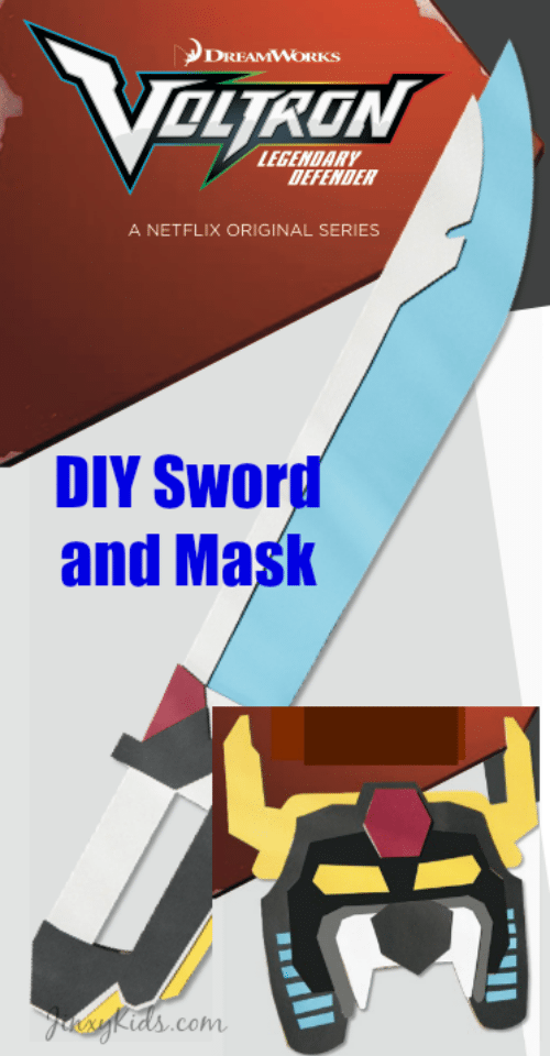 Voltron DIY Sword and Mask