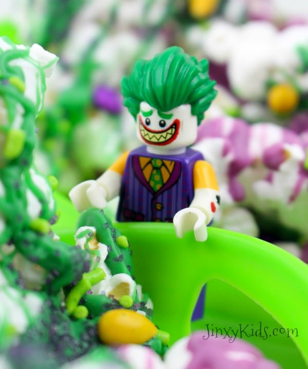 Lego Batman Movie Joker Popcorn Treat Recipe Jinxy Kids