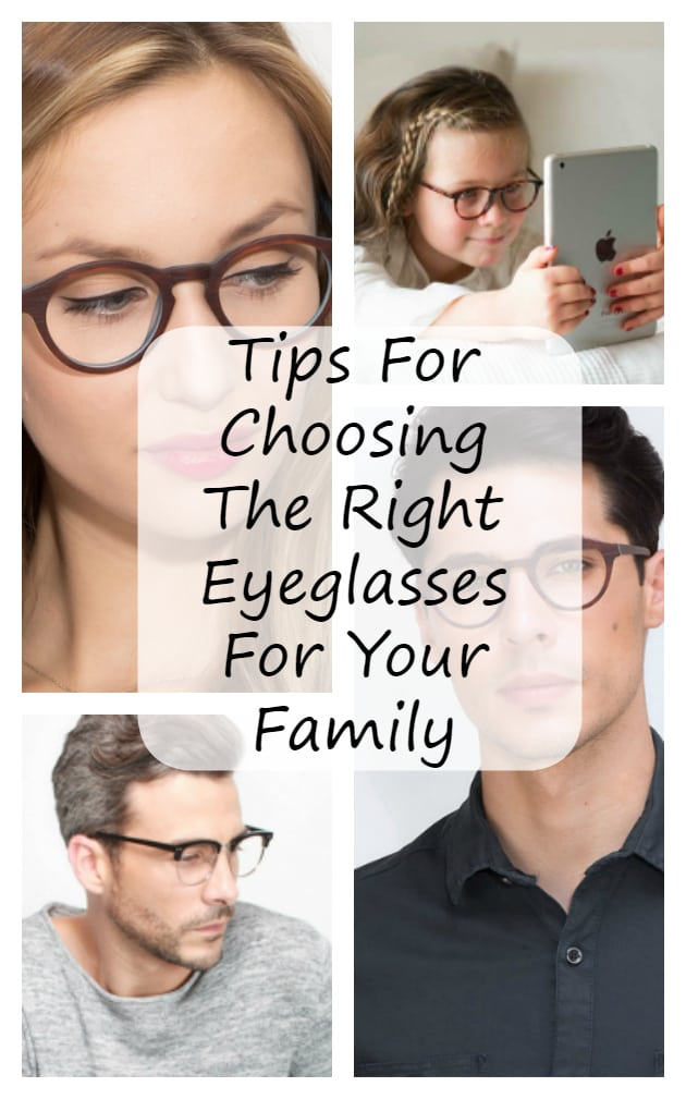 Are you or someone in your family in need of glasses? Before you go shopping, these tips for Choosing The Right Eyeglasses For Your Family are helpful #ad #besteyeq #shopshare