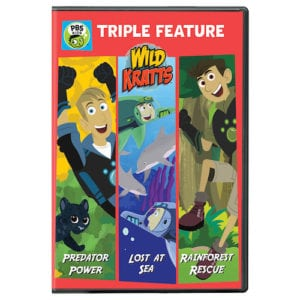 Wild Kratts: Triple Feature DVD Reader Giveaway