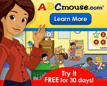 ABC Mouse Kids Learning Tool + 30 Day Trial Pass