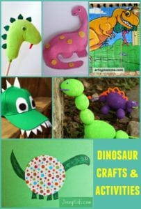 Dinosaur Crafts and Activities for Kids to Make