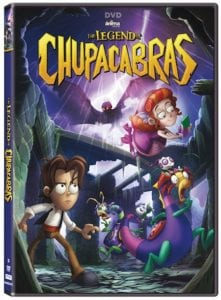 The Legend of Chupacabras DVD Reader Giveaway