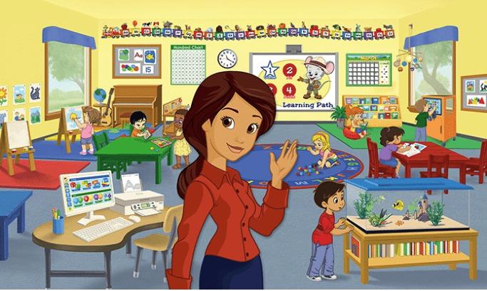 ABCmouse virtual classroom