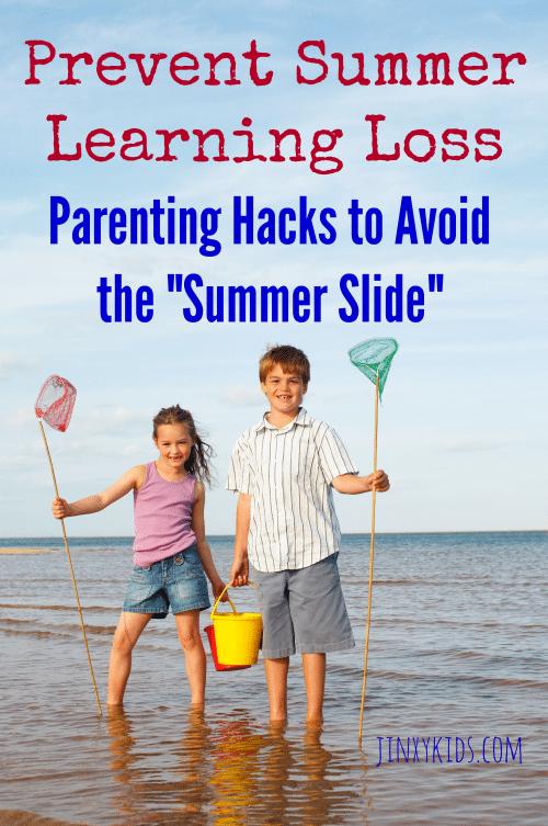 "Prevent Summer Learning Loss: Parenting Hacks to Help Avoid the ""Summer Slide"""