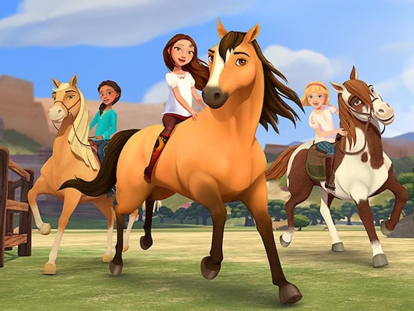 Dreamworks Animation Television S Spirit Riding Free On Netflix