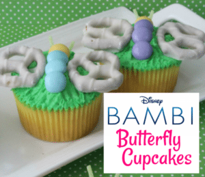 Bambi Butterfly Cupcakes Recipe to Celebrate Disney's Bambi Signature Collection