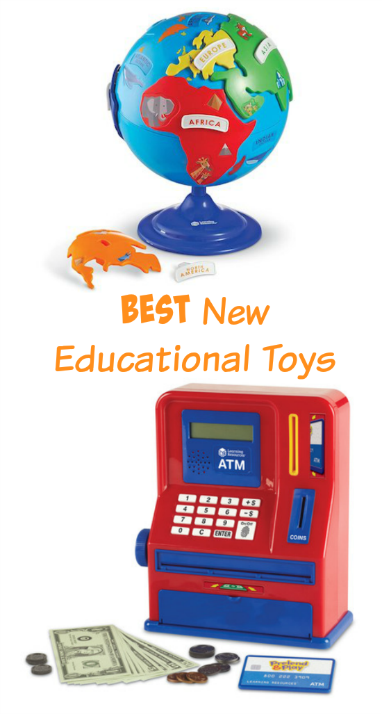 Best New Educational Toys for Kids ages 3+.
