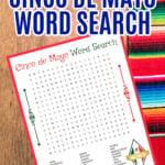 FREE PRINTABLE CINCO DE MAYO WORD SEARCH
