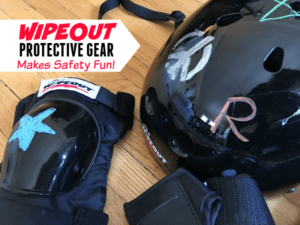 Wipeout Dry Erase Protective Gear Makes Safety FUN! + Reader Giveaway