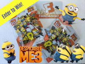 Despicable Me 3 Prize Pack Giveaway! See It In Theaters June 30th!