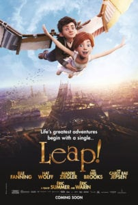 See LEAP! in Theaters this Friday, August 25th!