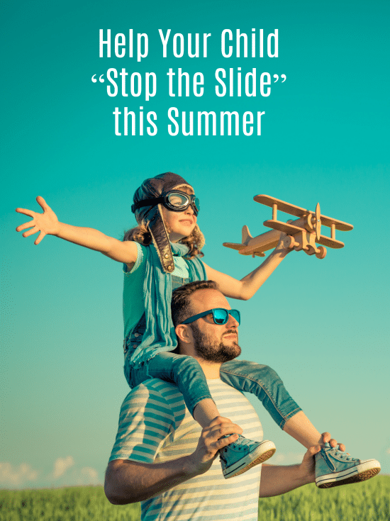 "How to Help Your Child ""Stop the Slide"" this Summer with Thinkster Math AD"